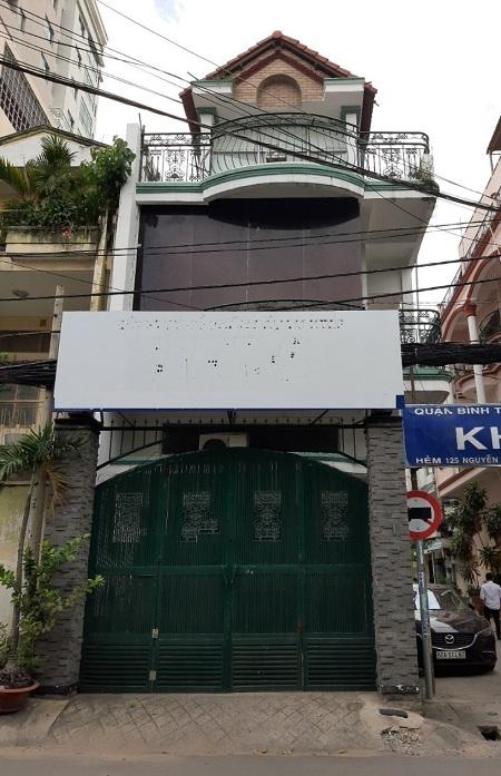 Cho thuê nhà mặt tiền đường Nguyễn Củu Vân quận Bình Thạnh