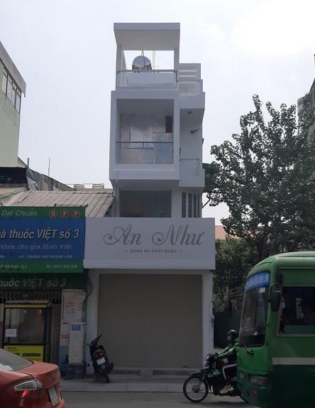 Cho thuê nhà mặt tiền đường Điện Biên Phủ, quận 1