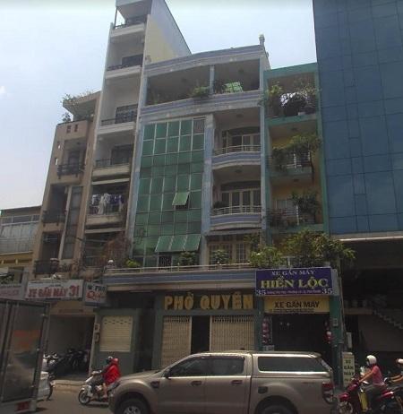 Cho thuê nhà mặt tiền đường Hoàng Văn Thụ, quận Phú Nhuận