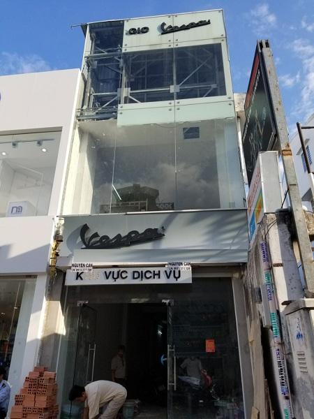 Cho thuê nhà mặt tiền đường Phan Đăng Lưu, quận Phú Nhuận