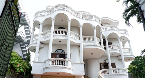 Cho thuê biệt thự đường Đặng Hữu Phổ quận 2 diện tích 30x35m