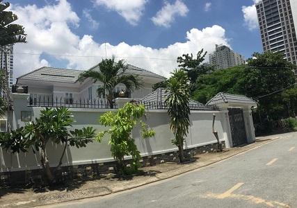 Cho thuê biệt thự đường Nguyễn Ư Dĩ quận 2 diện tích 20x25m