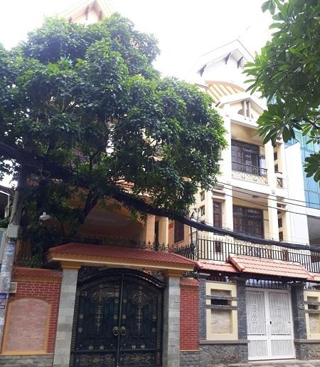 Cho thuê biệt thự đường Nguyễn Văn Mại Phường 4 tân bình