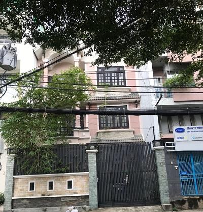 Cho thuê biệt thự mặt tiền đường D5 quận Bình Thạnh