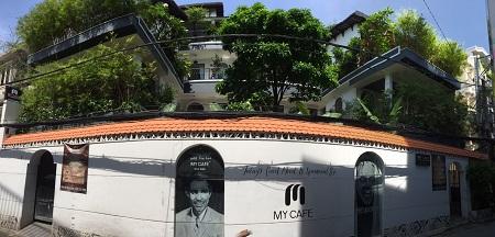 Cho thuê biệt thự mặt tiền Hồ Biểu Chánh, cho thuê nhà Phú Nhuận