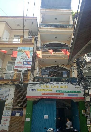 Cho thuê nhà  nguyên căn đường Giải Phóng quận Tân Bình
