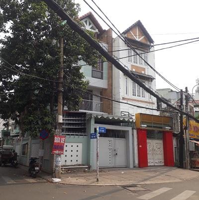 Cho thuê nhà 2 mặt tiền đường Cửu Long khu sân bay