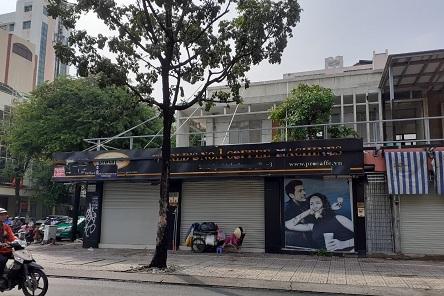 Cho thuê nhà 2 mặt tiền đường Lý Chính Thắng, quận 3