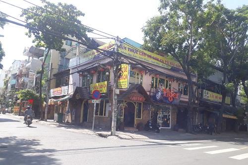 Cho thuê nhà 2 mặt tiền đường Trương Công Định khu bàu cát