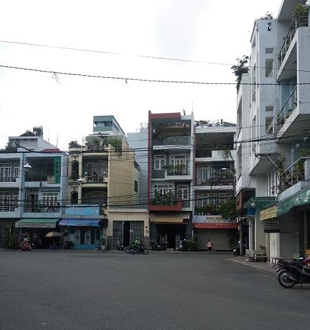 Cho thuê nhà 3 mặt tiền đường Bàu Cát 8, quận Tân Bình
