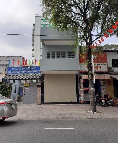 Cho thuê nhà đường Bà Huyện Thanh Quan quận 3