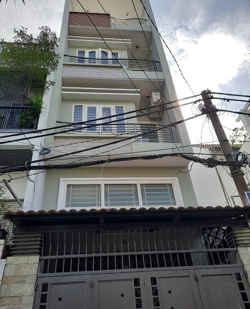 Cho thuê nhà đường Ba Vân quận Tân Bình