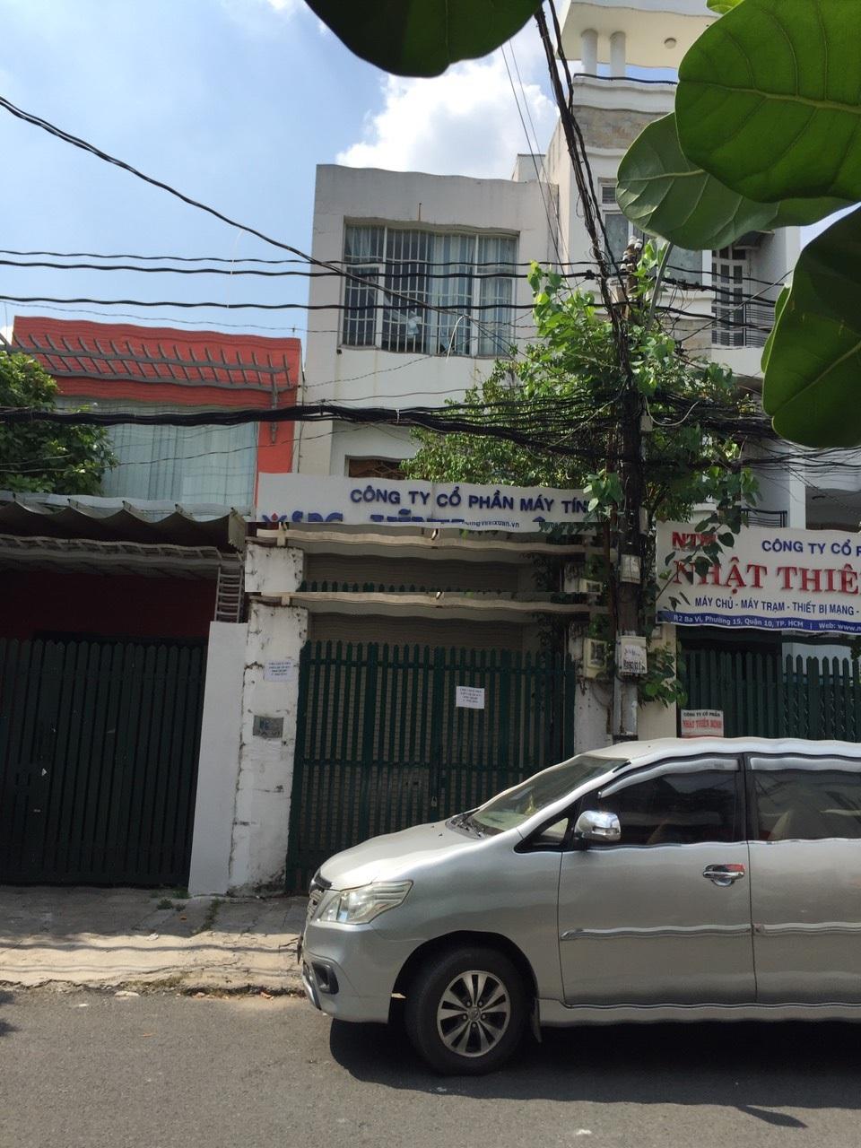 Cho thuê nhà đường Ba Vì phường 15 quận 10