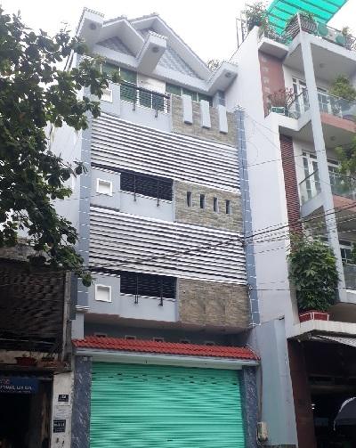 Cho thuê nhà đường bảy hiền quận tân bình 1 hầm 1 trệt 3 lầu