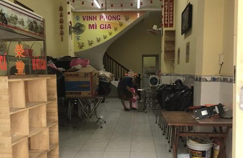Cho thuê nhà đường Bế Văn Đàn quận Tân Bình
