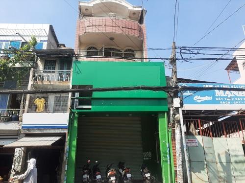 Cho thuê nhà đường Bùi Hữu Nghĩa phường 1 quận Bình Thạnh