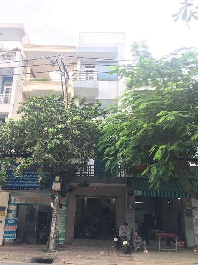Cho thuê nhà đường Chu Văn An quận Bình Thạnh 1 trệt 3 lầu