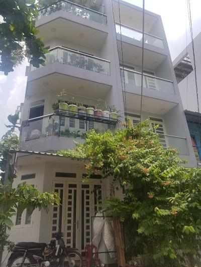 Cho thuê nhà đường Chu Văn An Quận Bình Thạnh