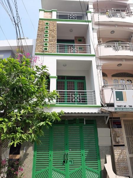 Cho thuê nhà đường D1, quận Bình Thạnh