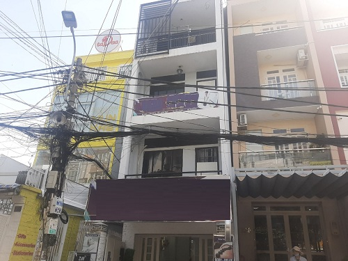 Cho thuê nhà đường D2 quận Bình Thạnh phường 25