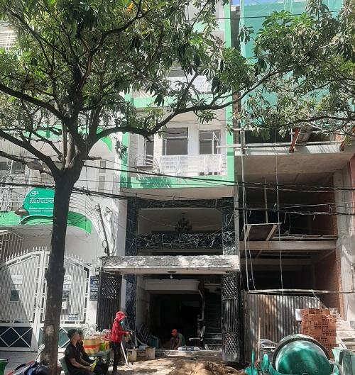 Cho thuê nhà đường D5 quận Bình Thạnh phường 25