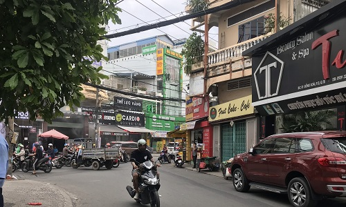 Cho thuê nhà đường Đồng Xoài quận Tân Bình