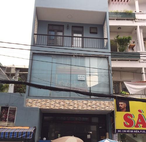 Cho thuê nhà đường Hồ Bá Kiện phường 15 quận 10