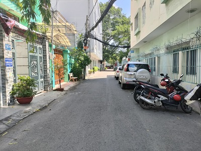 Cho thuê nhà đường Hoàng Hoa Thám Tân Bình 6x23m 1 hầm 1 trệt 2 lầu