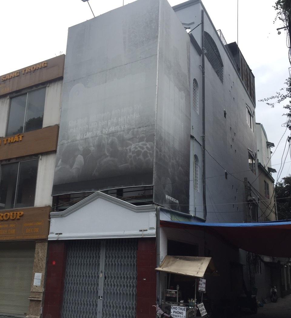 Cho thuê nhà đường Hoàng Văn Thụ phường 2 quận Tân Bình