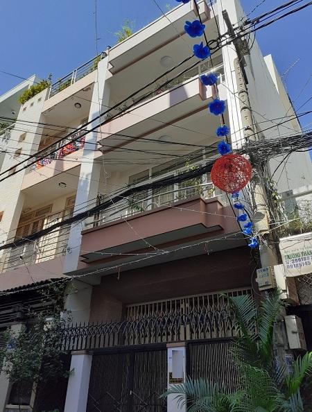 Cho thuê nhà đường Huỳnh Văn Bánh, quận Phú Nhuận
