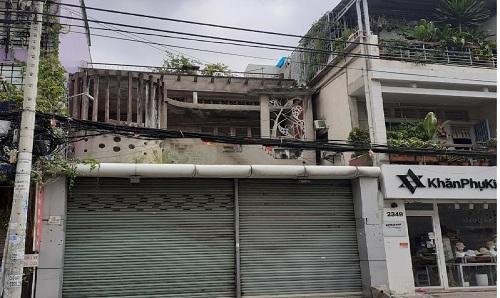 Cho thuê nhà đường Huỳnh Văn Bánh phường 13 quận Phú Nhuận