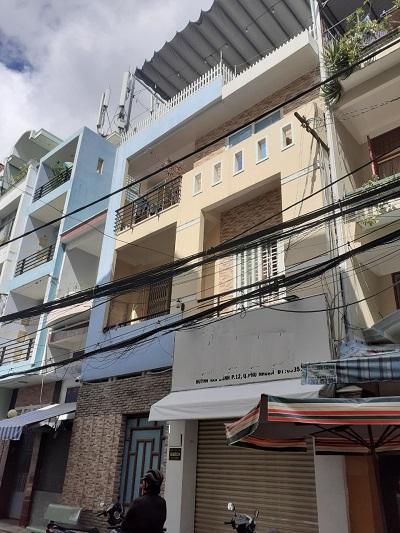 Cho thuê nhà đường Huỳnh Văn Bánh quận phú nhuận 7x13m 1 trệt 2 lầu