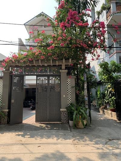 Cho thuê nhà đường Lam Sơn Quận Tân Bình 7.5x31m