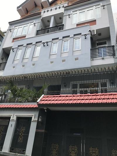 Cho thuê nhà đường Nguyễn Cảnh Dị, Phường 4, Quận Tân Bình