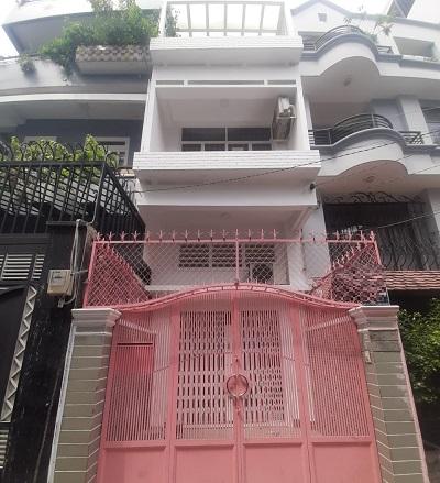 Cho thuê nhà đường Nguyễn Cửu Vân quận bình thạnh