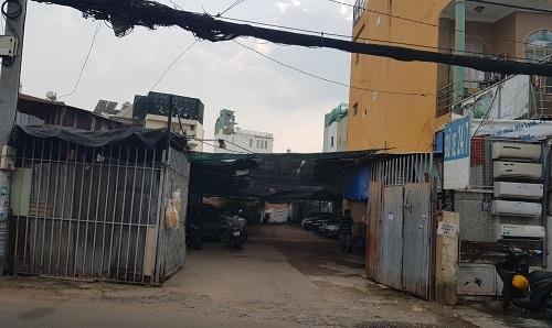 Cho thuê nhà đường Nguyên Hồng quận Bình Thạnh phường 11