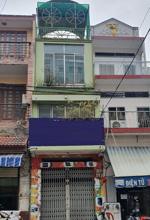 Cho thuê nhà đường Nguyễn Kim phường 6 quận 10