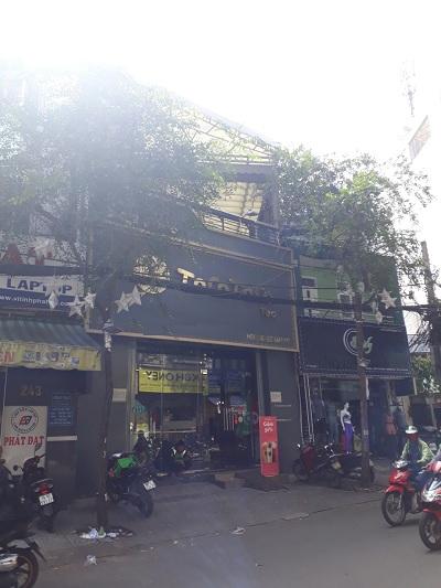Cho thuê nhà đường Nguyễn Thái Bình Phường 4 Quận Tân Bình