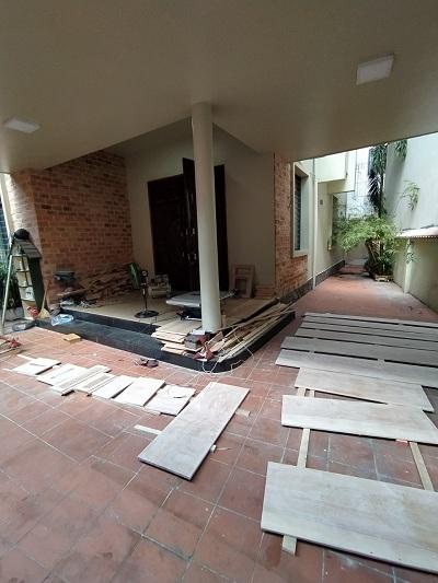 Cho thuê nhà đường Nguyễn Thái Bình quận Tân Bình phường 12