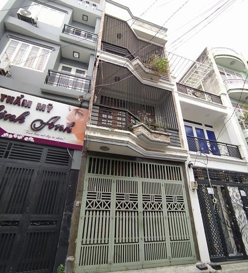 Cho thuê nhà đường Nguyễn Thái Bình quận Tân Bình