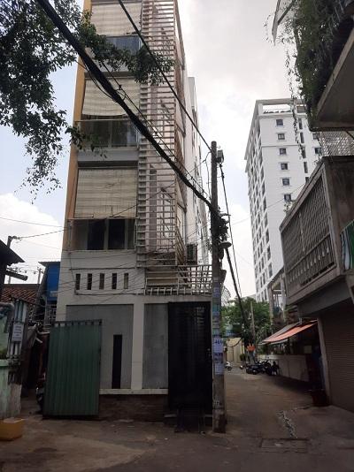 Cho thuê nhà đường Nguyễn Thiện Thuật Quận Bình Thạnh