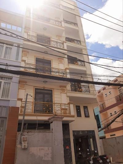 Cho thuê nhà đường Nguyễn Thượng Hiền Phường 5 Quận Bình Thạnh