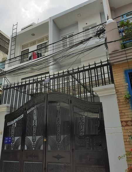 Nhà 1 trệt 2 lầu đường Nguyễn Trọng Tuyển Quận Phú Nhuận 25tr/tháng