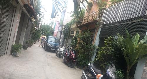 Cho thuê nhà đường Nguyễn Xí quận Bình Thạnh phường 13