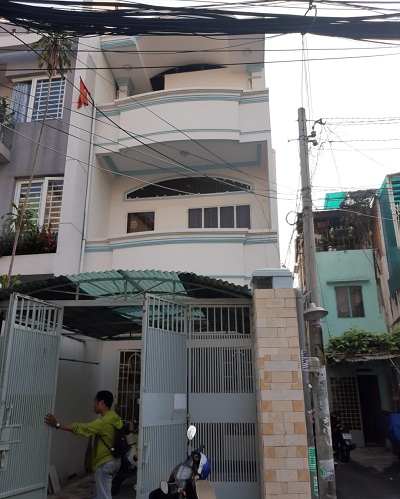 Cho thuê nhà đường Nơ Trang Long cho thuê nhà quận bình thạnh