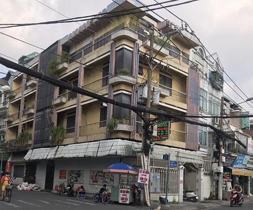 Cho thuê nhà đường Thăng Long phường 4 quận Tân Bình