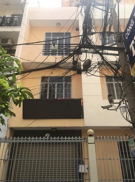 Thuê nhà đường Thành Thái Quận 10 1 trệt 3 lầu 35tr/tháng