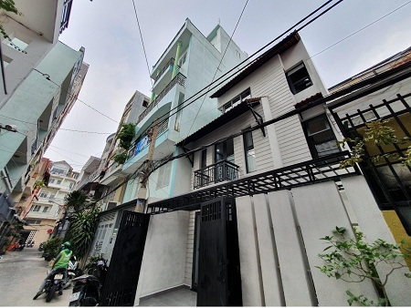 Cho thuê nhà đường Tô Hiến Thành quận 10