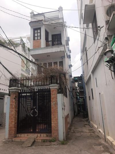 Cho thuê nhà đường Trần Bình Trọng Quận Bình Thạnh