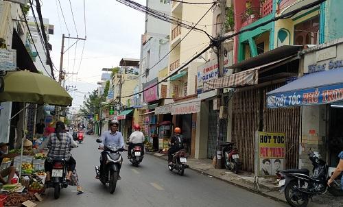 Cho thuê nhà đường Trần Mai Ninh phường 12 quận Tân Bình